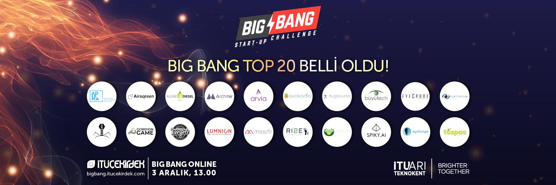 Big Bang TOP 20 Belli Oldu