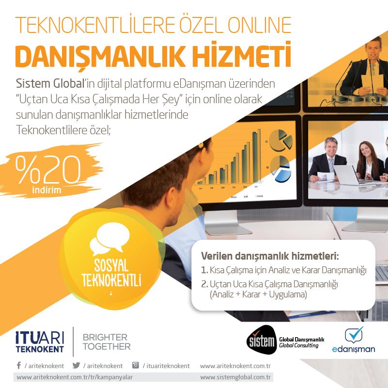 Teknokentlilere Özel Online Danışmanlık Hizmeti