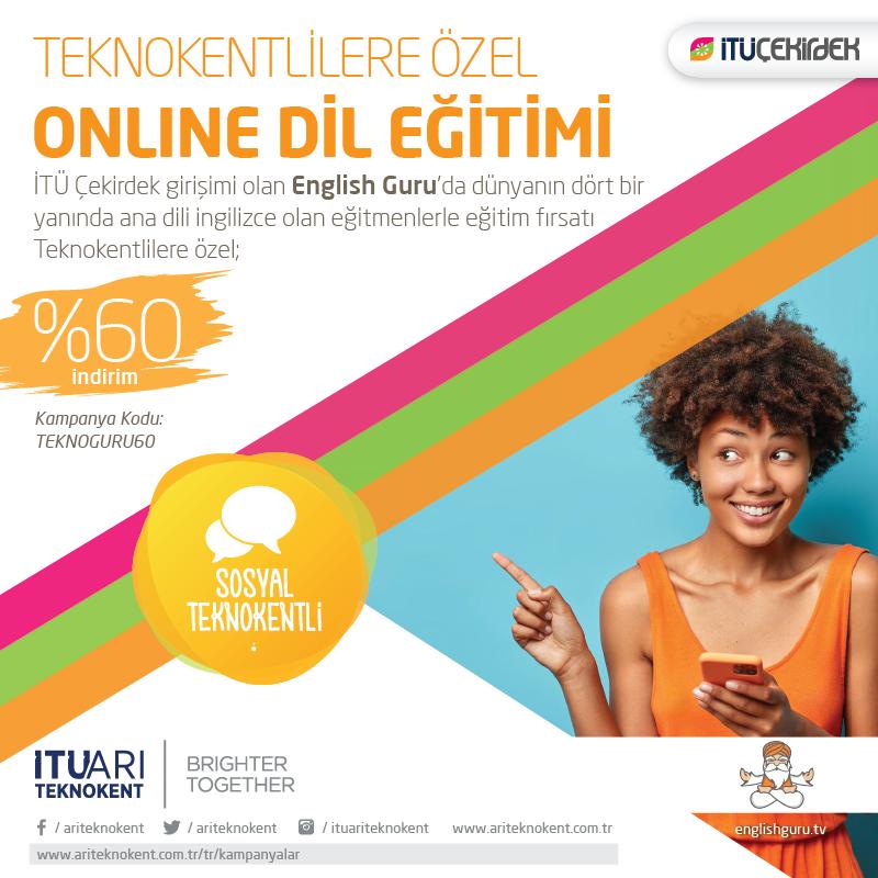 Teknokentlilere Özel Online Dil Eğitimi