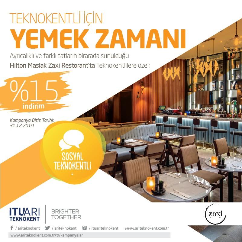 Hilton Maslak Zaxi Restaurant