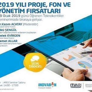 2019 Yılı Proje, Fon ve Yönetim Fırsatları