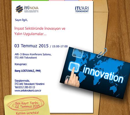 İnşaat Sektöründe İnovasyon ve Yalın Uygulamalar