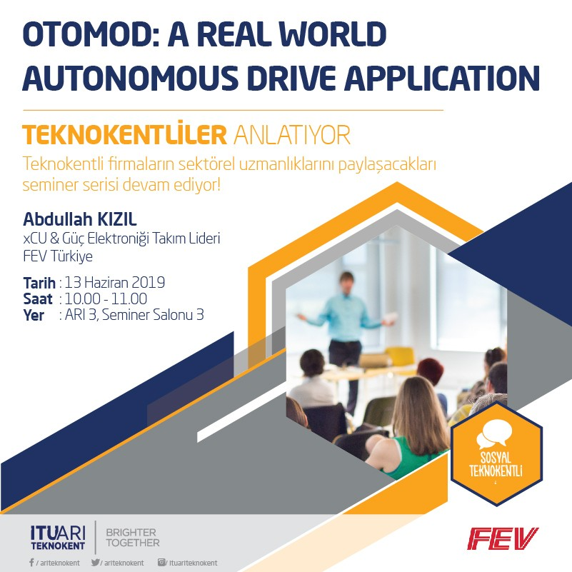 OTOMOD: A Real World Autonomous Drive Application