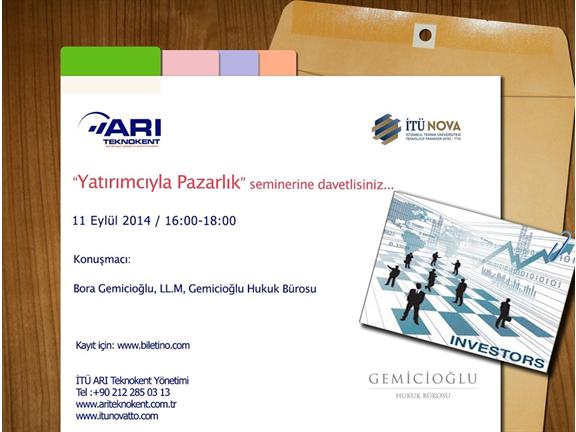 """""""SANTEZ-TÜBİTAK 1505"""" Informative Seminar"""