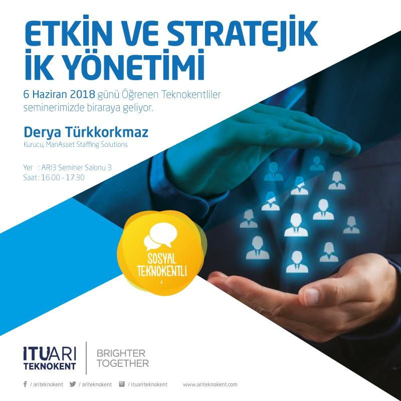Etkin ve Stratejik İK Yönetimi