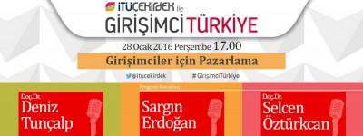 İTÜ Çekirdek İle Girişimci Türkiye 28 Ocak 2016