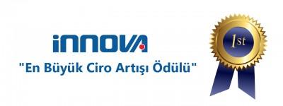 """İnnova, SAP'den """"En Büyük Ciro Artışı Ödülü""""nü aldı!"""