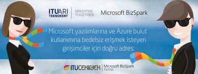"""İTÜ Çekirdek, artık Microsoft """"BizSpark Plus"""" partneri!"""