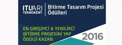 İTÜ Bitirme Tasarım Projesi Ödülleri 2016