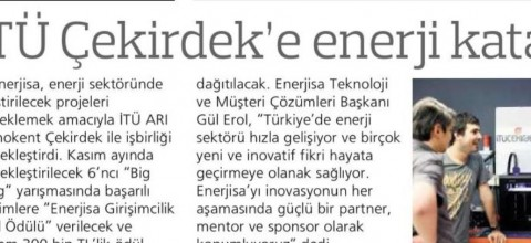 İTÜ ÇEKİRDEK'E ENERJİ KATACAK