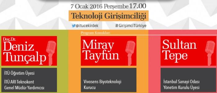 İTÜ Çekirdek İle Girişimci Türkiye