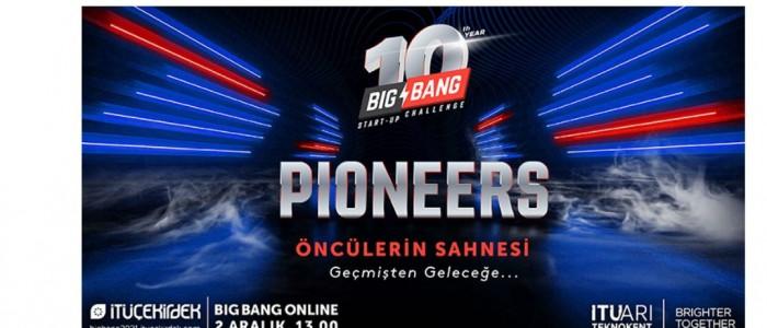 BU SENE 10. YILINI KUTLAYAN BIG BANG'DE YİNE ÖNCÜ GİRİŞİMLER SAHNE ALACAK