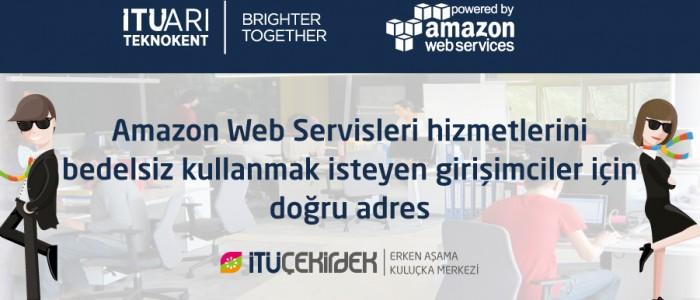 İTÜ Çekirdek ve Amazon Web Servisleri İşbirliği
