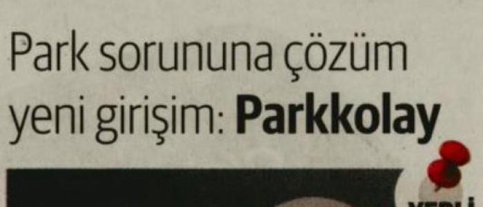 PARK SORUNUNA ÇÖZÜM