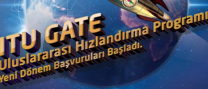 ITU GATE'İN YENİ DÖNEMİ İÇİN BAŞVURULAR BAŞLADI!