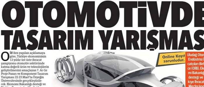 OTOMOTİVDE TASARIM YARIŞMASI