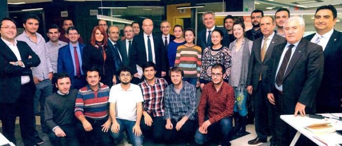 Sanayici İTÜ ARI Teknokent'teki Girişimcilerle