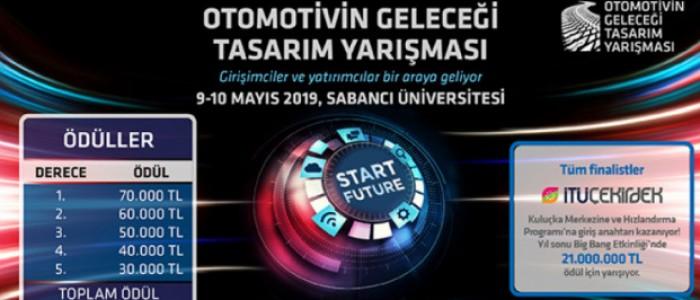 OTOMOTİVİN GELECEĞİ TASARIM YARIŞMASI 9-10 MAYIS'TA