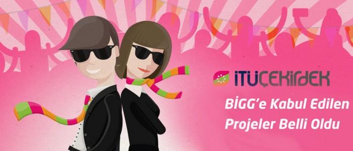 BİGG-Bireysel Genç Girişim İTÜ Çekirdek 1. Aşama Hızlandırma Programına Kabul Edilen Projeler Belli Oldu