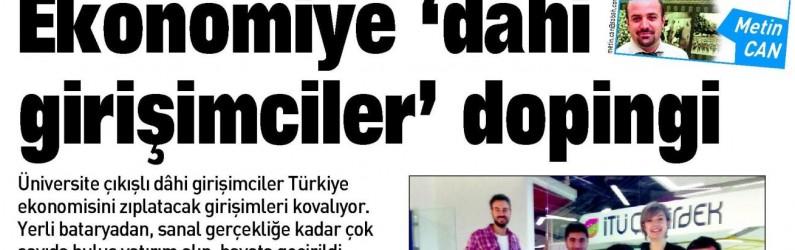 """EKONOMİYE """"DAHİ"""" GİRİŞİMCİLER DOPİNGİ"""