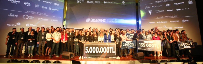 BIG BANG 2016'DA GİRİŞİMCİLERE BİR GECEDE 5 MİLYON TL'LİK DESTEK