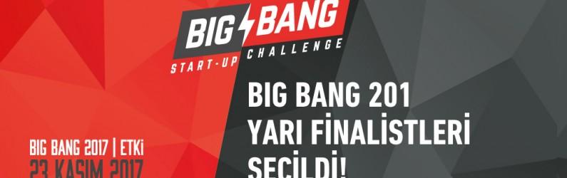 BIG BANG 2017 YARI FİNALİSTLERİ BELLİ OLDU!